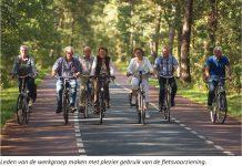 fietsvoorziening tussen Molenschot en Gilze