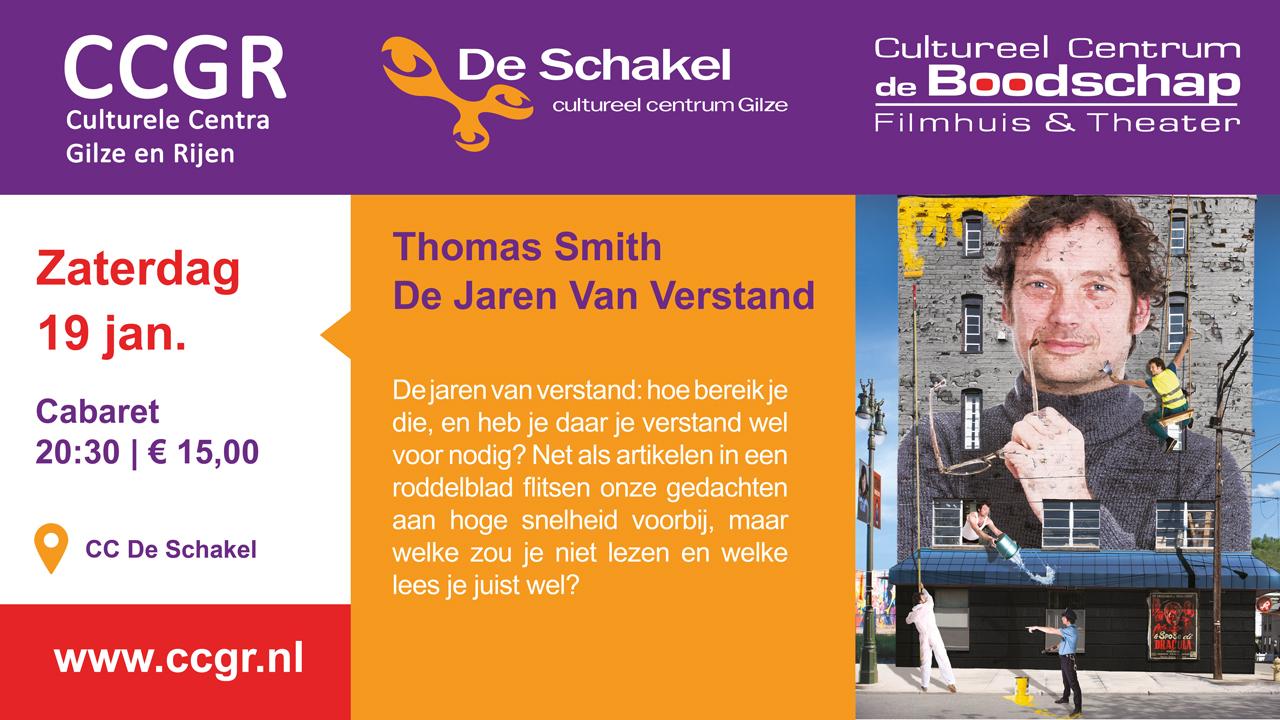 Thomas Smith – De Jaren Van Verstand