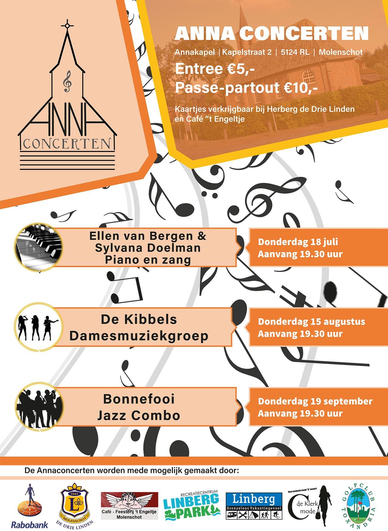 Anna Concerten in Molenschot