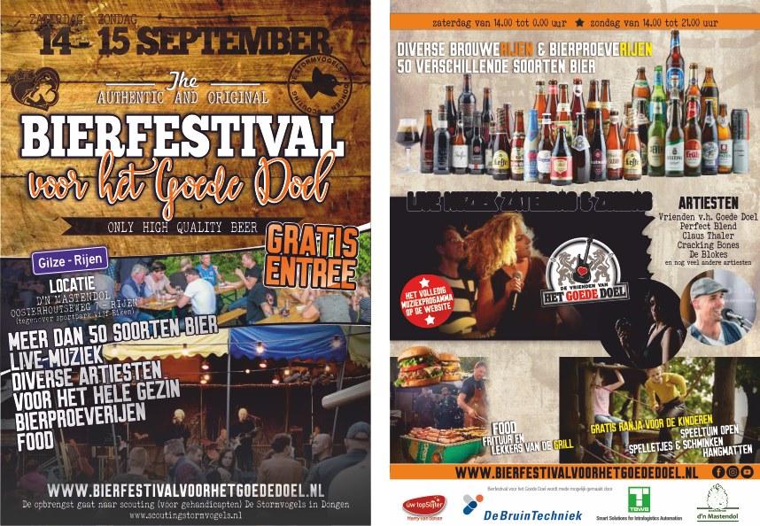 Bierfestival voor het Goede Doel in Rijen